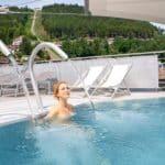 Außenpool Palais Thermal Bad Wildbad Wellnesshotel Schwarzwald