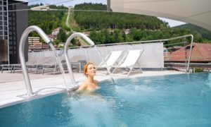 Außenpool Palais Thermal Bad Wildbad Wellnesshotel Schwarzwald