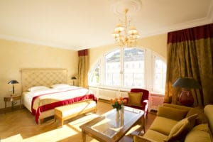 Junior Suite Badhotel im Wellnesshotel Moknis