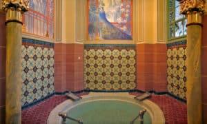 Wellnesshotel Moknis im Schwarzwald das Palais Thermal Bad Wildbad kleiner Whirlpool