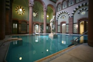 Historisches Thermalbad im Palais Thermal in Bad Wildbad