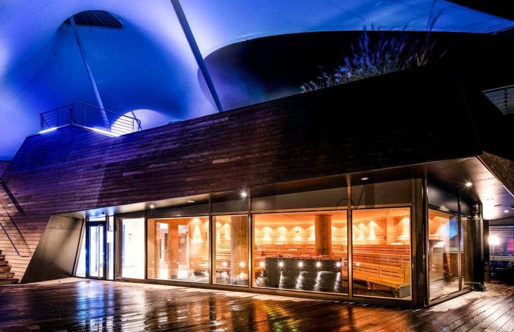 Neue Aufgusssauna Außen bei uns im Wellnesshotel im Schwarzwald
