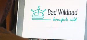 Bad Wildbad im Schwarzwald Neues Logo Königlich Wild