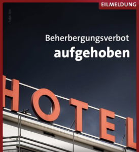 Beherbergungsverbot Baden-Württemberg aufgehoben