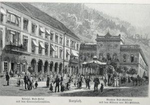 Geschichte Palais Thermal Bad Wildbad