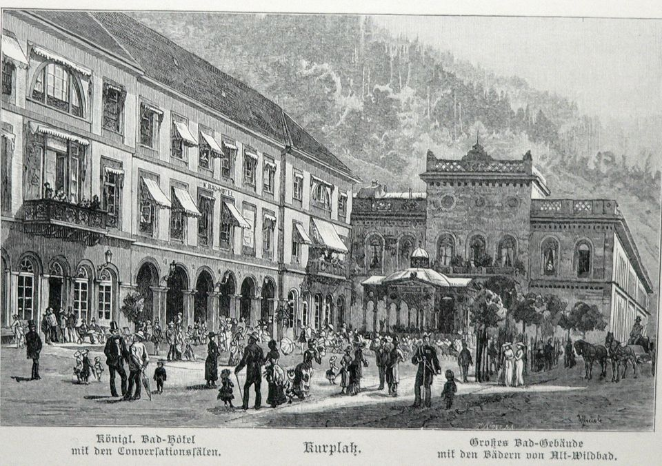 Geschichte Palais Thermal Bad Wildbad