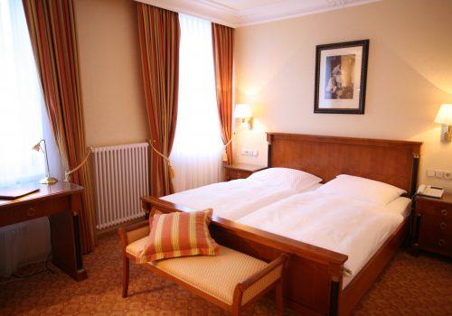 Wellnesshotel Moknis im Schwarzwald das Doppelzimmer Luxus Rossini Bad Wildbad
