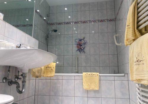 Badezimmer im Wellnesshotel Moknis im Schwarzwald
