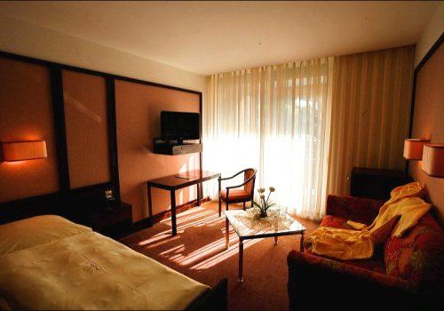 Einzelzimmer Badhotel Standard Wellnesshotel Bad Wildbad Schwarzwald