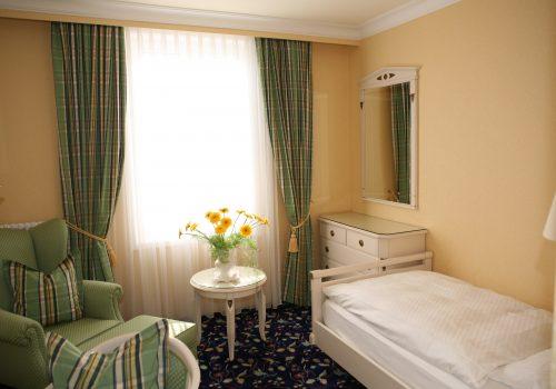 Wellnesshotel Moknis im Schwarzwald das Einzelzimmer Rossini Bad Wildbad