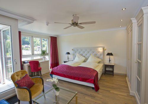 Wellnesshotel Moknis im Schwarzwald das Doppelbett