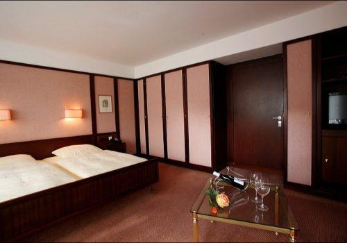 Wellnesshotel Moknis im Schwarzwald das Doppelzimmer Badhotel Economy Bad Wildbad
