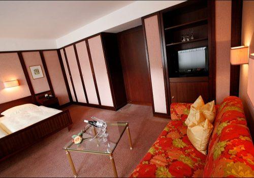 Sitzgruppe Doppelzimmer Badhotel Economy